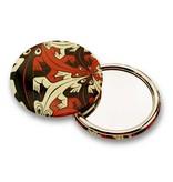 Miroir de poche, grand, Ø 80 mm, plus petit et plus petit, Escher
