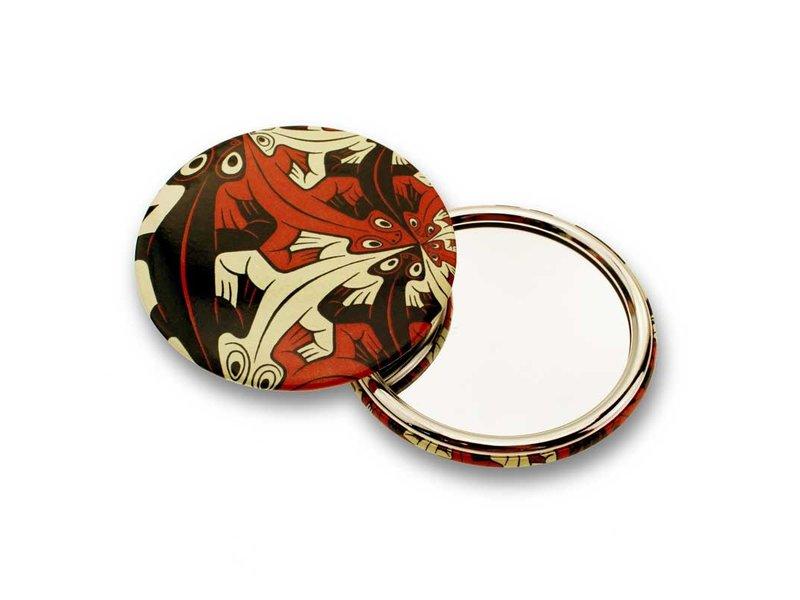 Spiegeltje, groot, Ø 80 mm, Kleiner en kleiner, Escher
