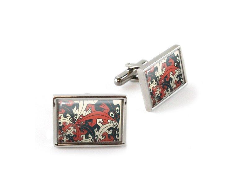 Cufflinks, Smaller and smaller, Escher