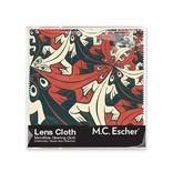 Lens cloth, 15 x 15 cm, Smaller and smaller, Escher