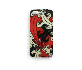Phone Case, I-phone 5, Smaller and smaller lizards, M.C. Escher