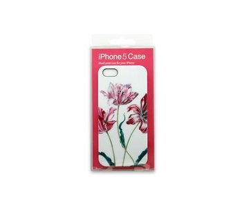 Cubierta del teléfono, I-phone 5, Tres tulipanes, Merian