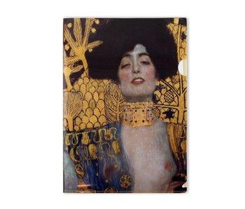 Filesheet A4, Plastic, Judith, Klimt