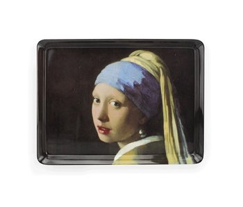 Midi dienblad (27 x 20 cm) , Meisje met de parel , Vermeer