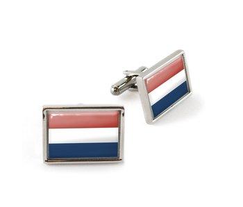 Manschettenknöpfe, Flagge Niederlande