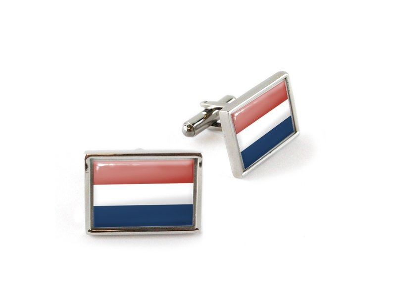 Manchetknopen, Vlag Nederland