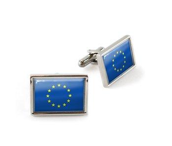 Manschettenknöpfe, Flagge Europa