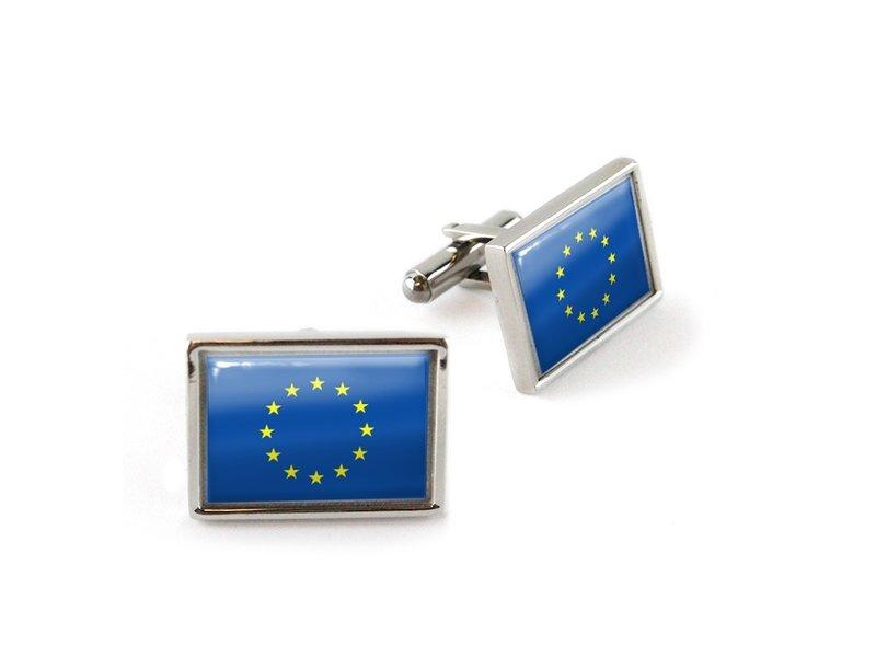 Cufflinks, EU flag