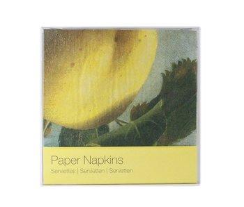 Paper napkins, Appel, Koch