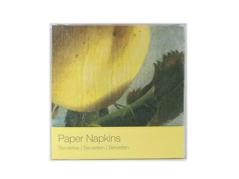 Papieren servetten, Museum More, Appel, Koch