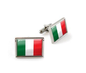Boutons de manchette, drapeau Italie