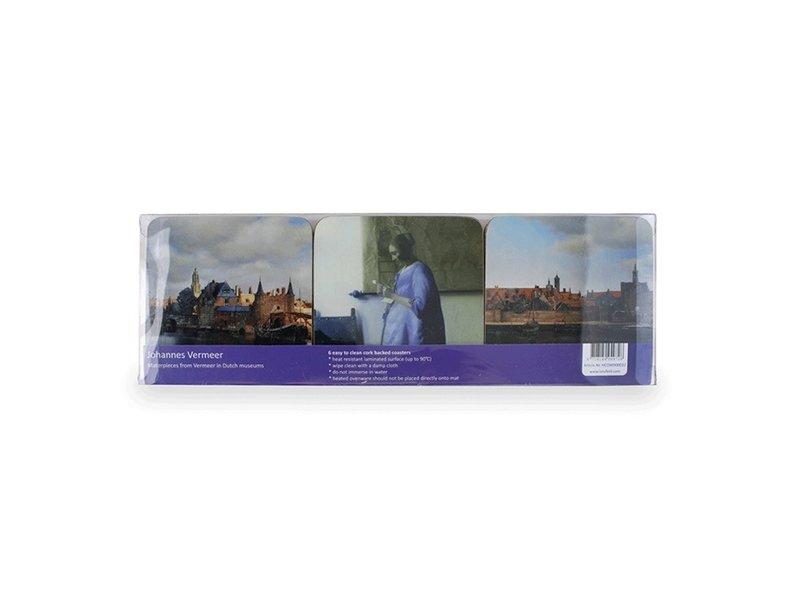 Dessous de verre, Peintures, Vermeer