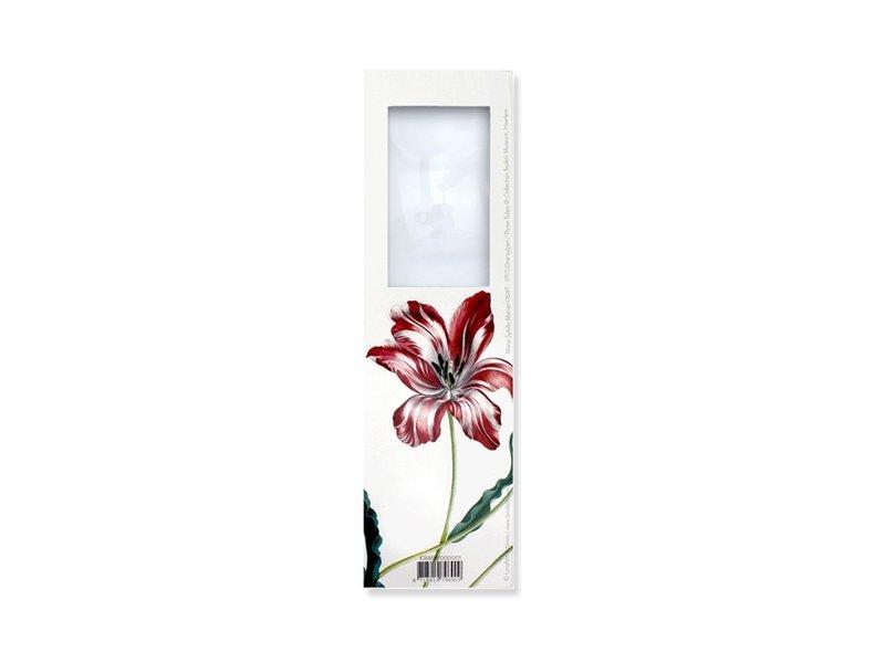 Magnifying Bookmark, Three tulips, Merian