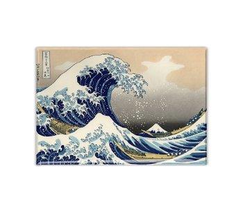 Imán de nevera, La gran ola de Kanagawa, Hokusai