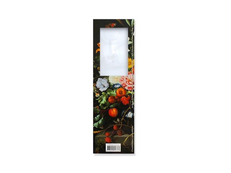 Magnifying Bookmark, Flowers, De Heem