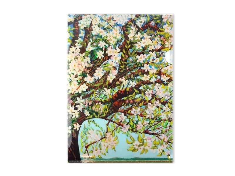 L-Ordner A4-Format, Charley Toorop, Beemsterblüte