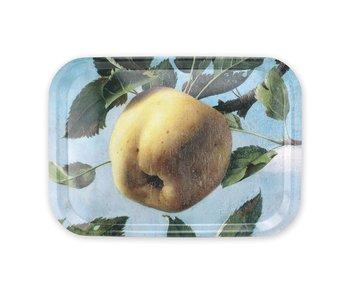 Tablett Laminat groß, Pyke Koch, Stillleben mit Apfel