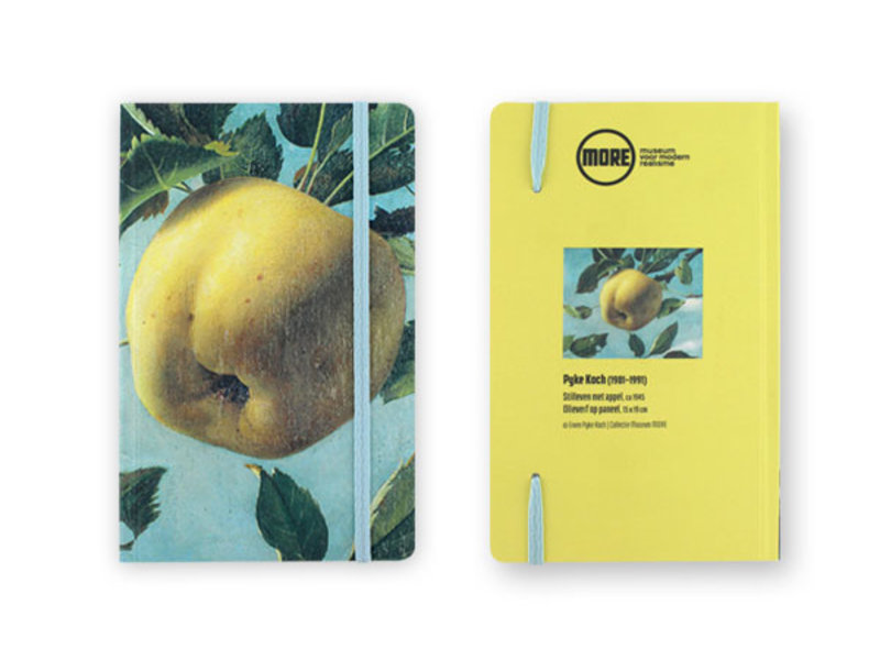 Softcover Notebook, Museum More, Appel, Koch