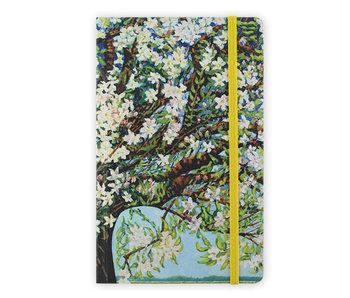 Cuaderno de tapa blanda, flor de Beemster, Toorop