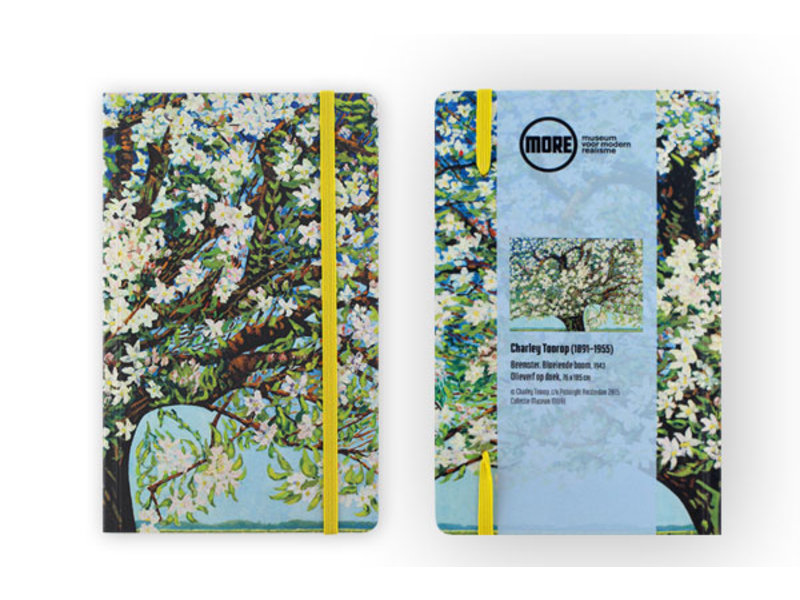 Softcover-Notizbuch, Beemsterblüte, Toorop