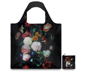 Shopper foldable, Still life with flowers, De Heem