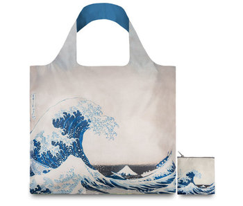 Opvouwbare shopper, HOKUSAI The Great Wave