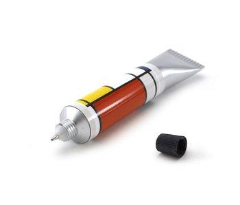 Tubo de pintura Pluma, Piet Mondrian