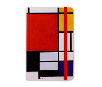 Softcover Notebook A6,  Mondrian
