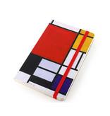 Carnet à couverture souple, Composition, Mondrian