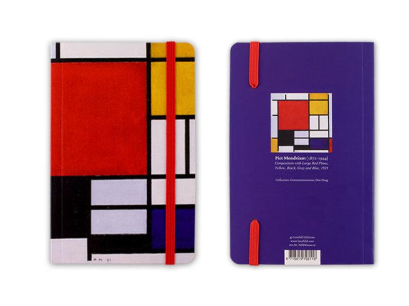 Softcover-Notizbuch, Komposition, Mondrian