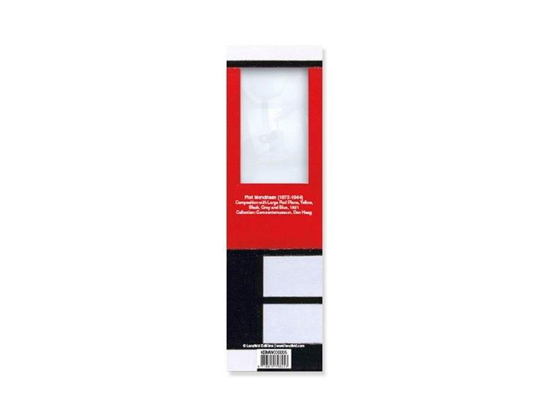 Magnifying Bookmark,  Mondriaan