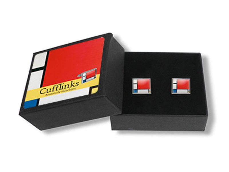 Manschettenknöpfe, Zusammensetzung, Piet Mondriaan