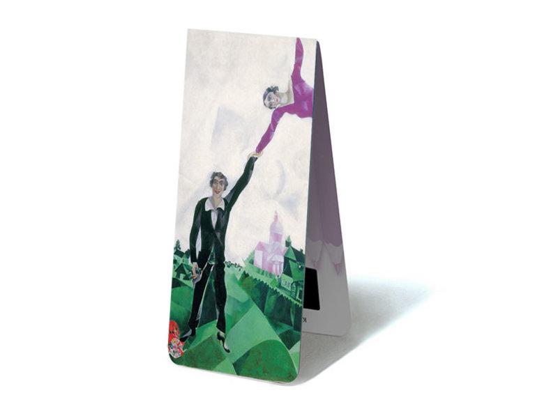 Marcapaginas magnético, paseo marítimo Chagall