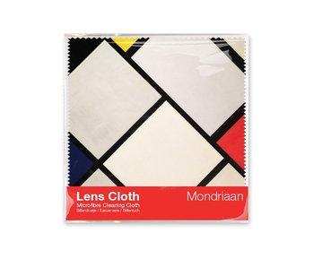 Paño limpiador de microfibre, 15 x 15 cm, Mondrian