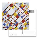 Ansichtkaart, Victory Boogie Woogie, Mondrian