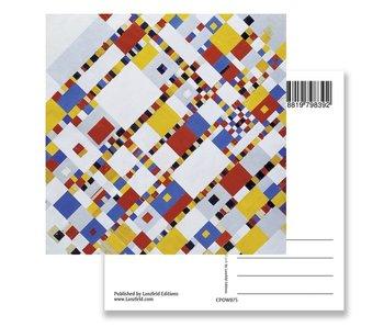 Carte postale, Victory Boogie Woogie, Mondriaan