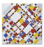 Carte postale, Victory Boogie Woogie, Mondrian