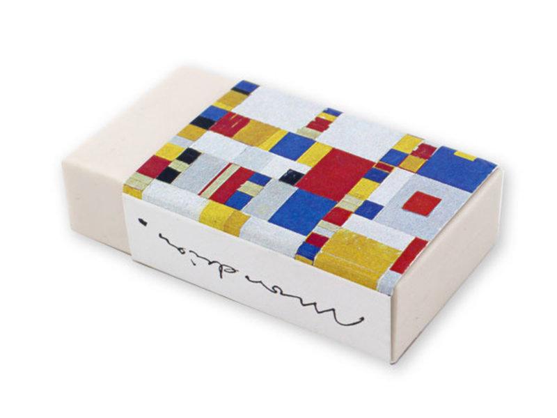 La gomme,, Mondriaan