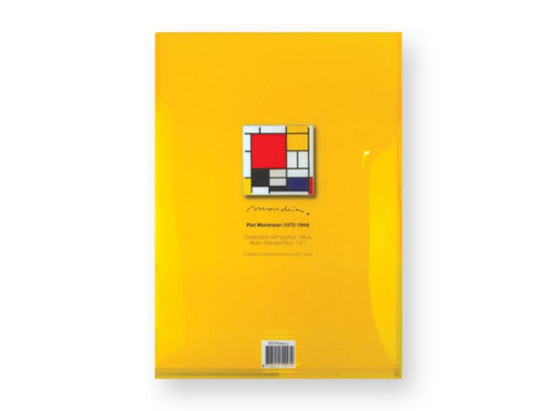 L-vormige file sheet,  Compositie, Mondriaan