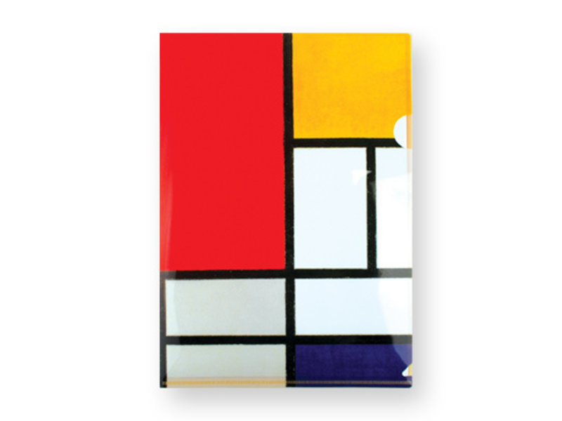 Filesheet A4, Composition, Mondriaan