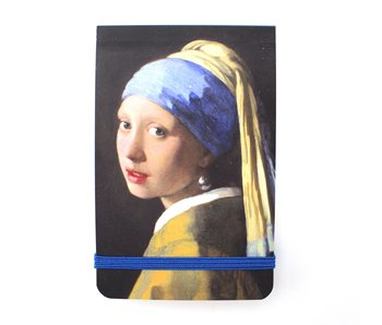 Pocket Note A7 , Girl with a Pearl Earring, Vermeer