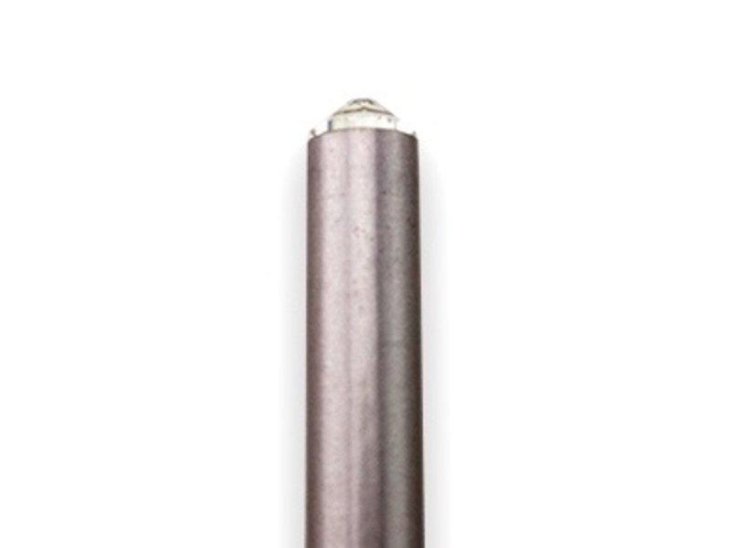Crayon, argent avec cristal