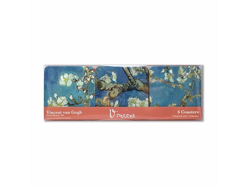 Untersetzer, Mandelblüte, Van Gogh