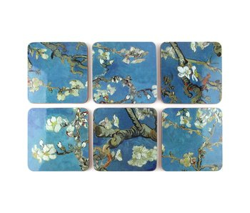 Coasters, Almond Blossom, Van Gogh