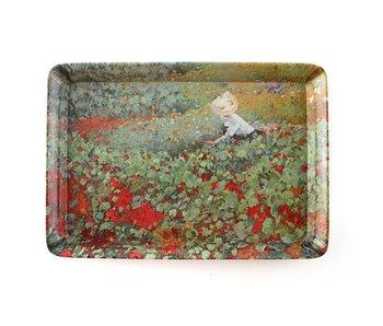 Bandejas de servicio W, Mini, melamina, Van Looy, The Garden