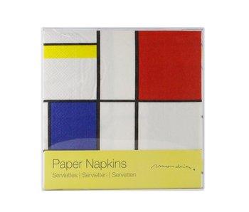Papierservietten, Mondrian