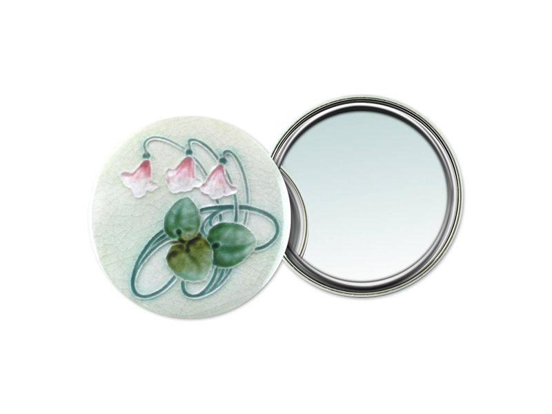 Spiegeltje, groot, Ø 80 mm Art Nouveau