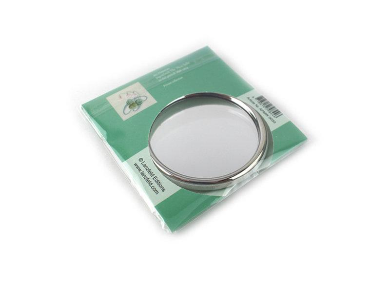 Miroir de poche, Ø 80 mm, Art nouveau