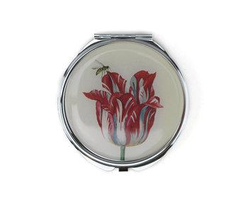 Espejo plegable, tulipán, marrel