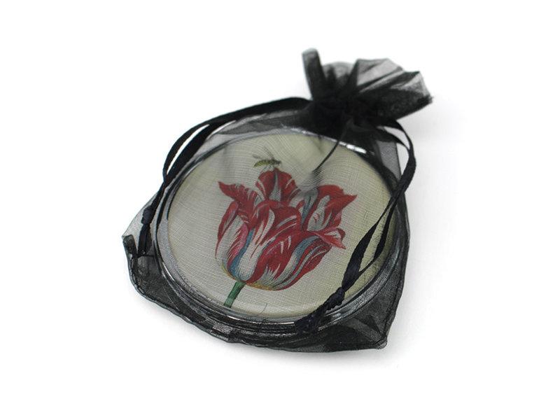 Folding Pocket Mirror, Tulip, Marrel